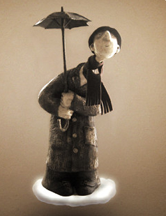 Кукольная скульптура. Папье - маше. Мастер класс.