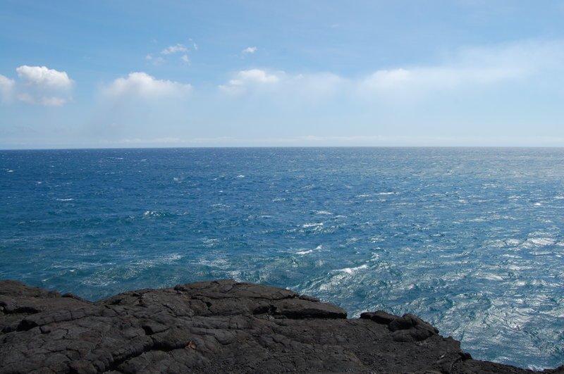 И бесконечный Тихий океан америка, вулканы, гавайи, пейзажи, природа, путешествия