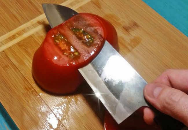 Заточка ножа против шерсти: секрет мастера