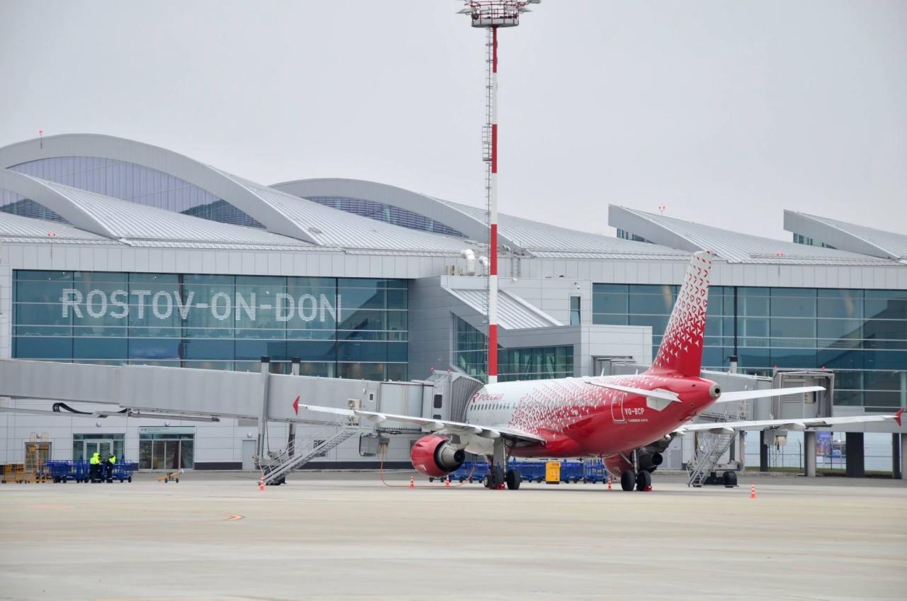Новейшему российскому аэропорту мешает война в Донбассе