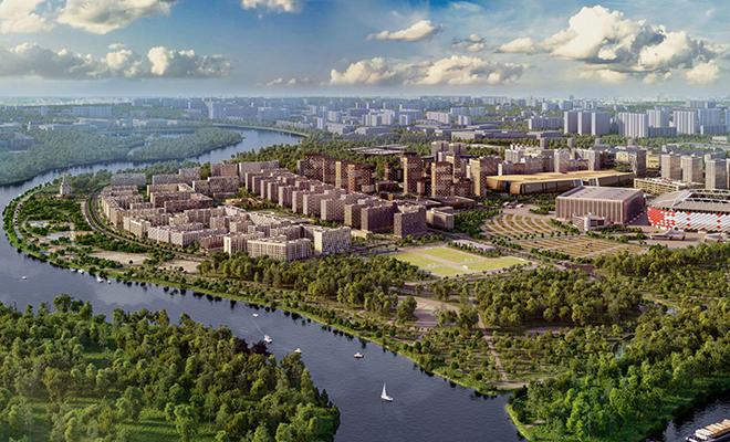 5 городов, которые поглотила Москва Культура