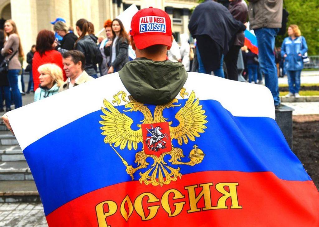 Силой и запугиванием: россия…