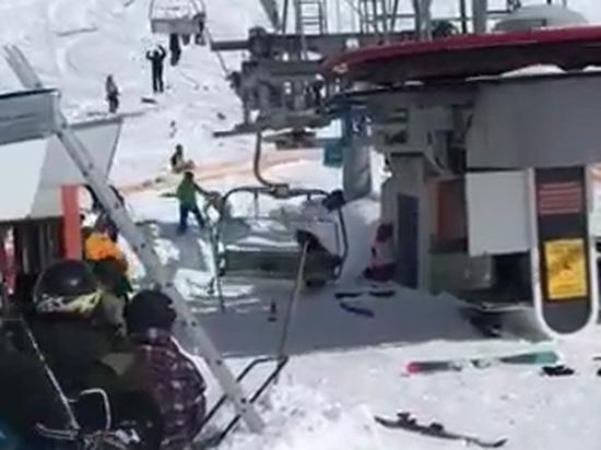 "Мясорубка на курорте Гудаури: от ""взбесившегося"" подъемника пострадали 11 человек"