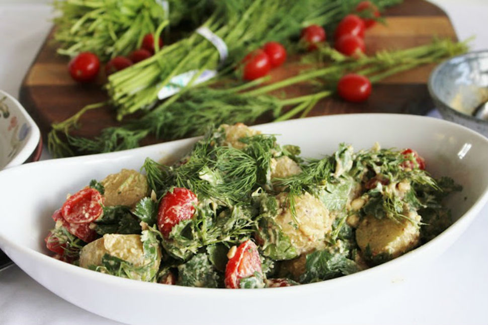 12 вкуснейших салатов для лета