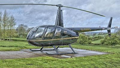 В Башкирии вертолет Robinson совершил жесткую посадку