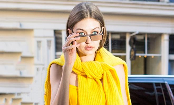 Цвет настроения – желтый: 20 вещей в стиле Джиджи Хадид