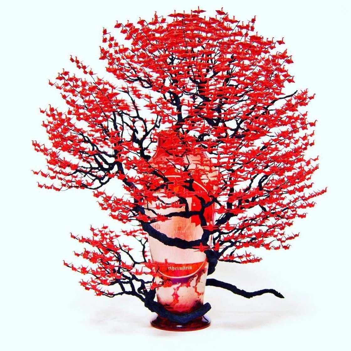 Удивительные деревья-бонсай от японской художницы