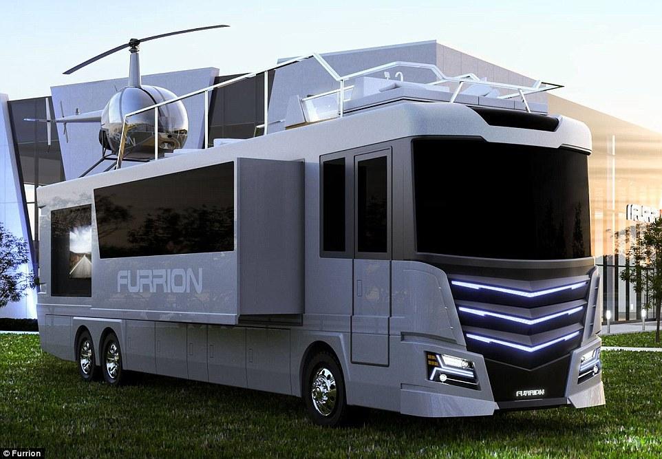 Elsium RV — автобус мечты