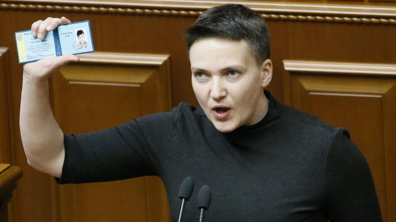 Савченко предложили политиче…