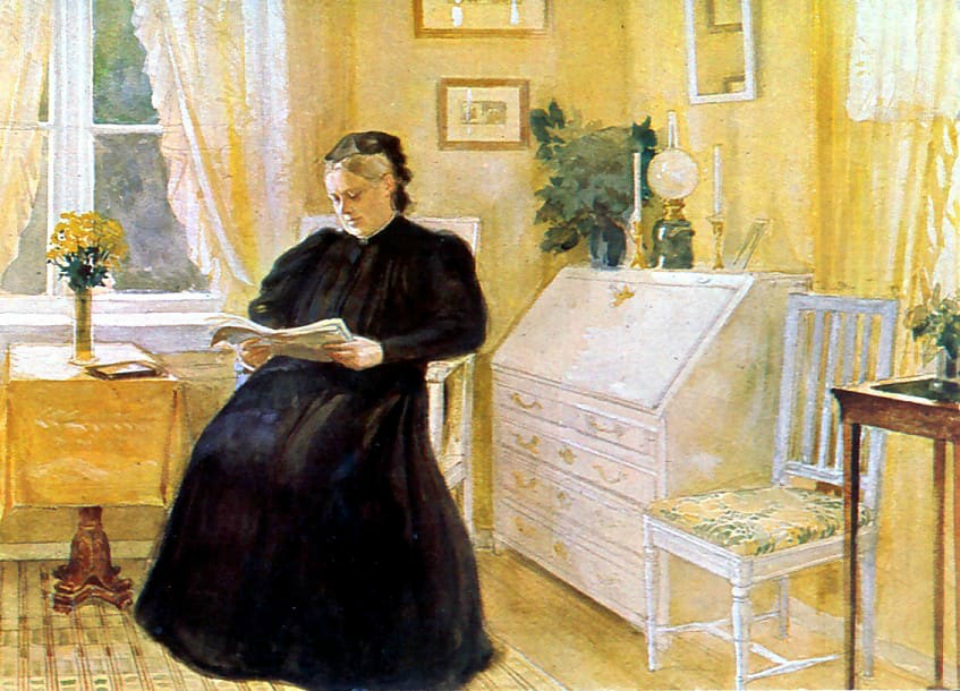 Художник Альберт Густав Аристид Эдельфельт 1854-1905.Финляндия