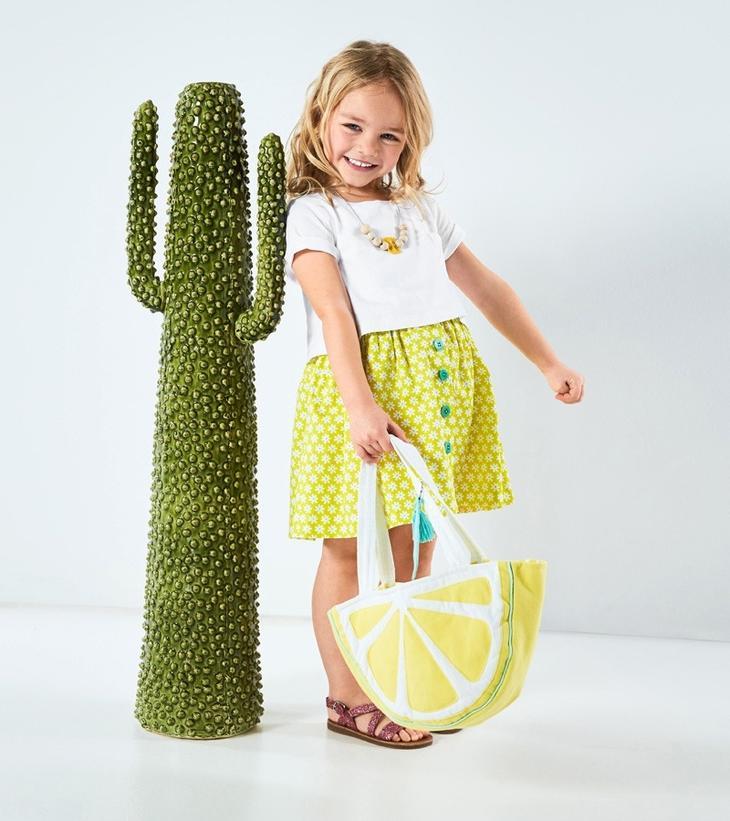 МК — делаем детскую сумочку в виде лимонной дольки