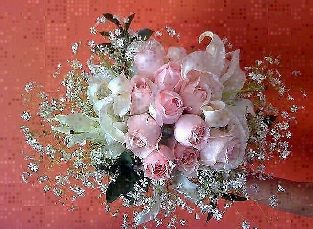 Христианские открытки с днем рождения женщине цветы