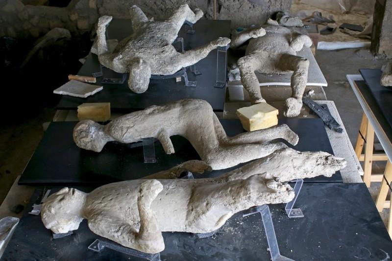 Заживо погребённые: как погибали Помпеи