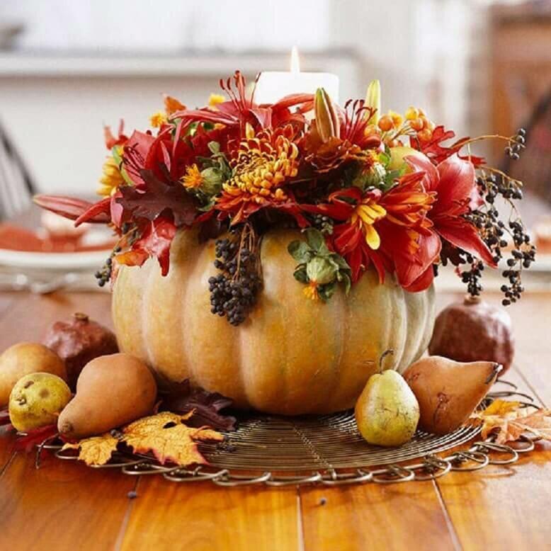 Осенний декор для дома своими руками - много идей для вдохновения