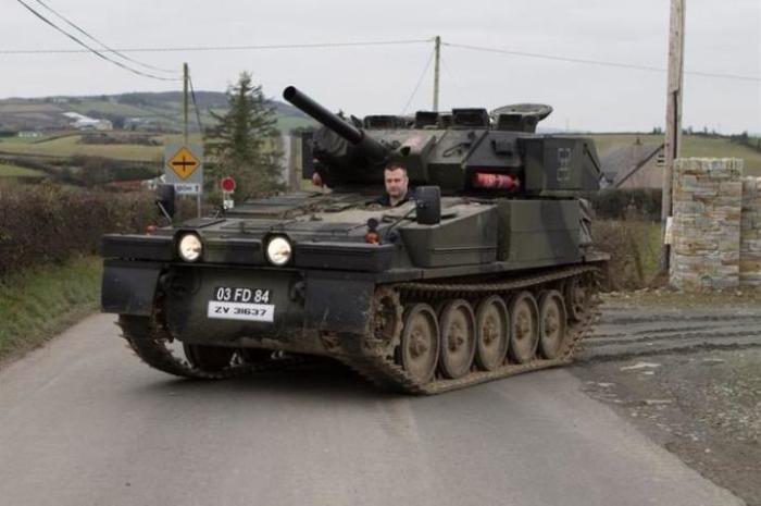 Личный танк для прогулок и поездок по магазинам