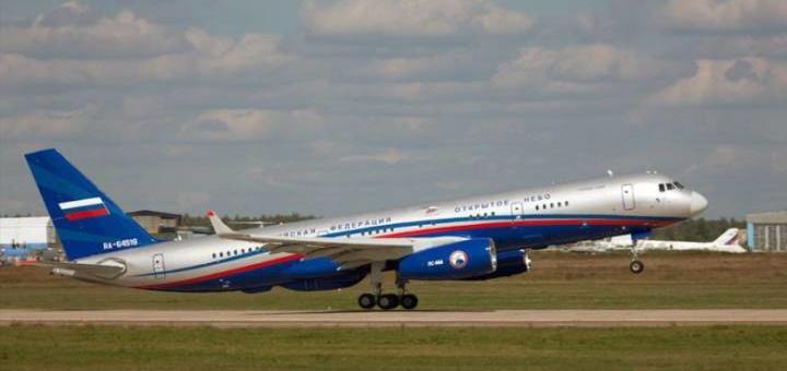 США испугались русского самолета