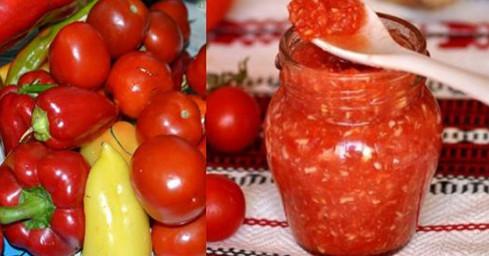 Этот соус из помидоров и перца будет фаворитом среди консерваций!