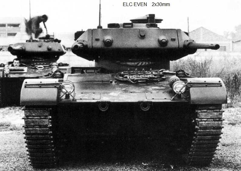 Семейство лёгких бронемашин EVEN ELC  оружие