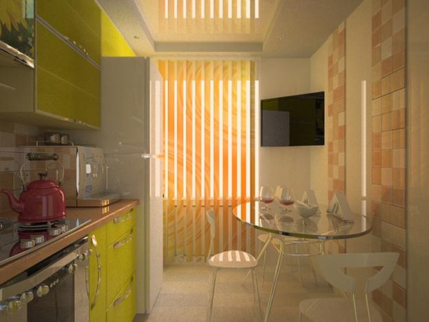 Маленькая кухня от Виктории Наливайко