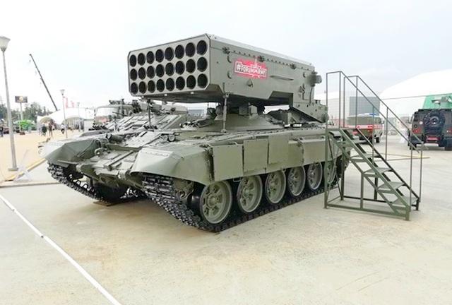 Огнеметные танковые