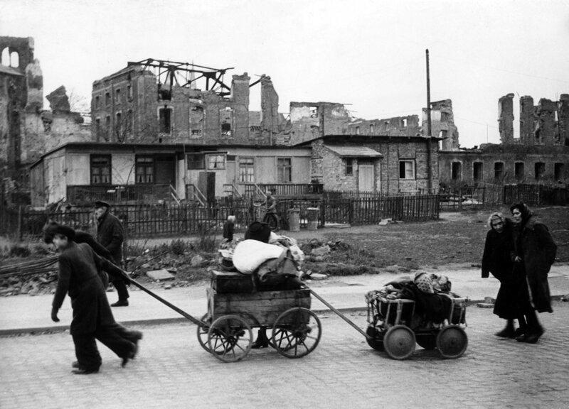 Депортация немцев из Польши Польша, вторая мировая война, германия, итоги Второй мировой войны, немцы, чехословакия, югославия