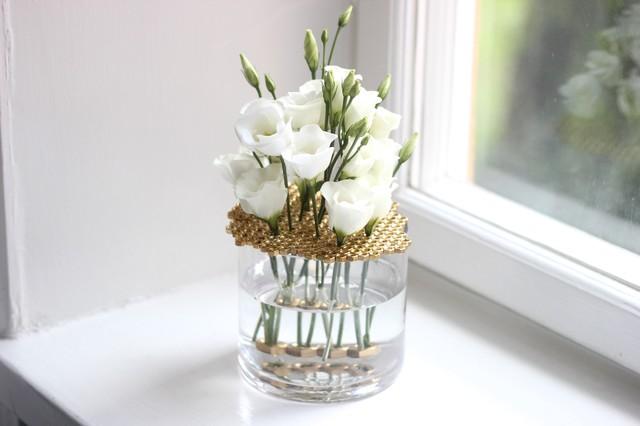 DIY: Красивая ваза из банки своими руками
