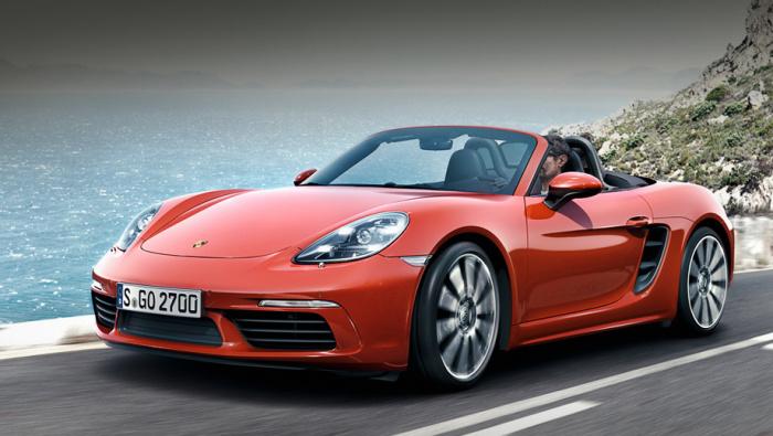 Новый родстер Porsche Boxster S.
