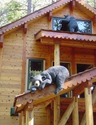 Мишки из дерева. Браво масте…