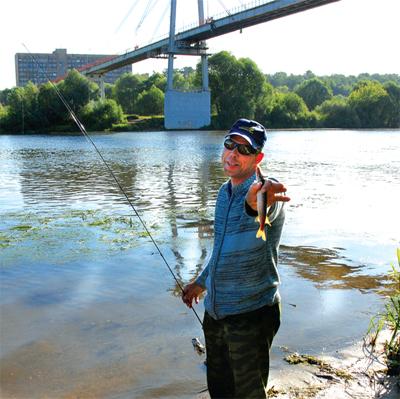 №031. Как нас пользуют. Рыбалка у моста .