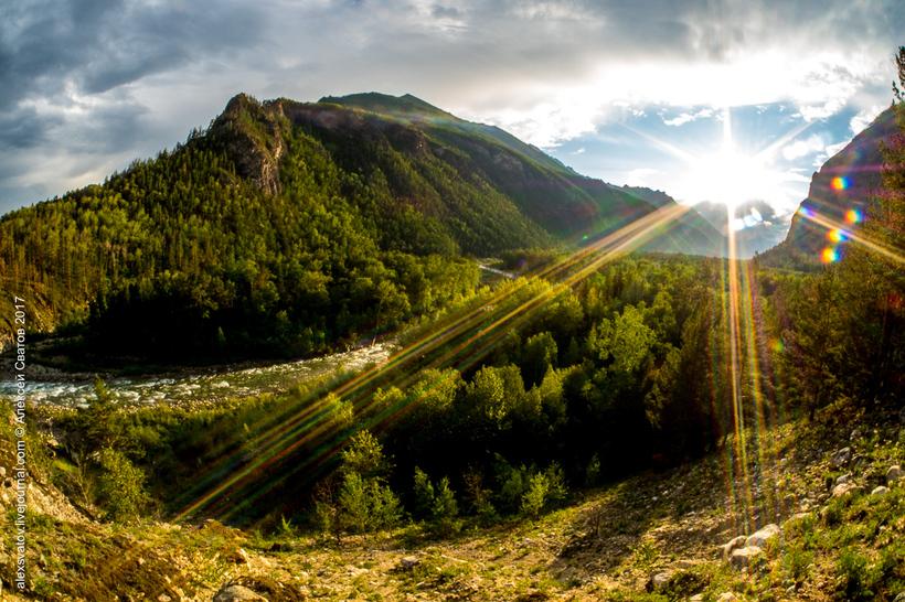 Долина реки Алла — одно из с…