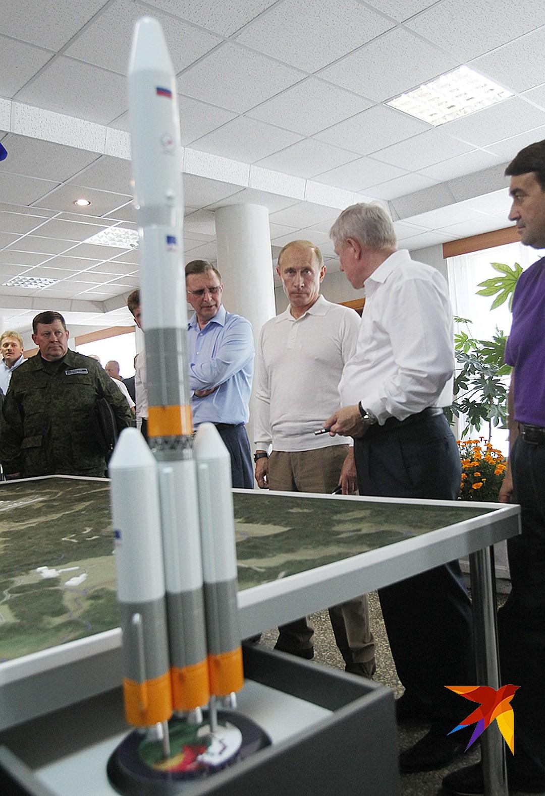 С колоссальными усилиями новые ворота в космос были построены Фото: Владимир ВЕЛЕНГУРИН