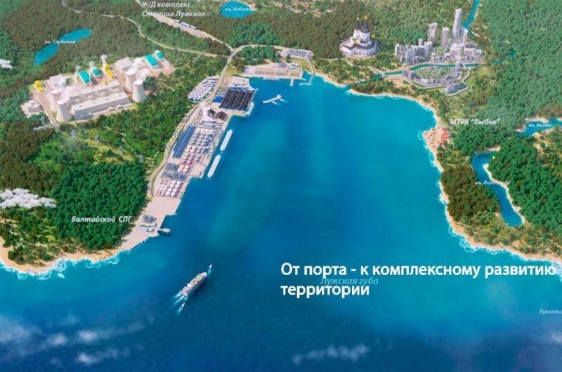 Усть-Луга заставляет «балтий…