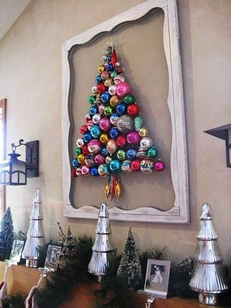 елка из шариков