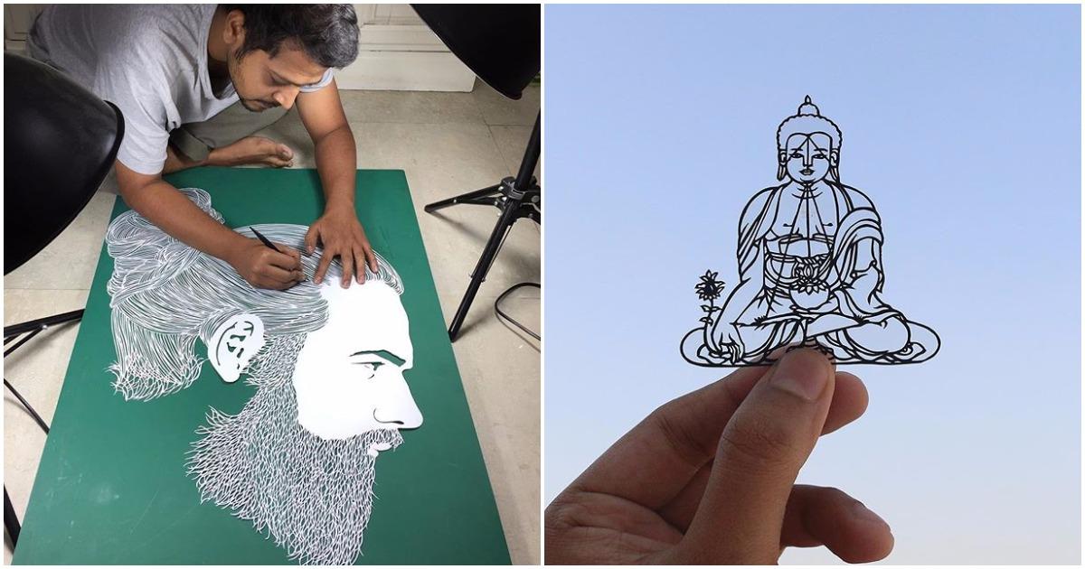 Индийский художник творит настоящие чудеса из бумаги