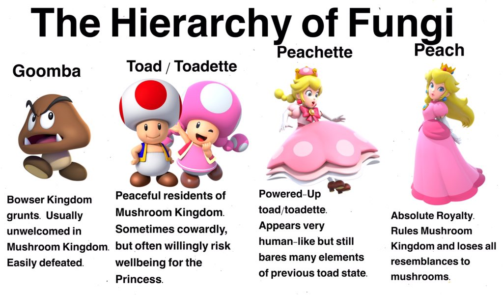 Nintendo released some kind of ad where Toadette used a magic crown to transform into Peach called Peachette and the internet has quickly done a version