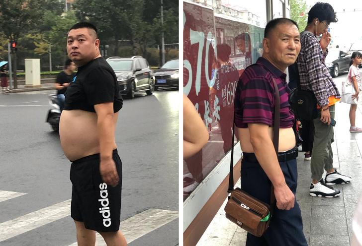 Привычки китайцев нам не понятные скорее всего