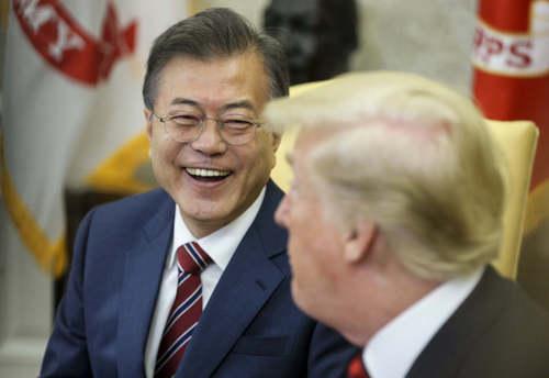 Глава Южной Кореи намерен встретиться с Трампом на следующей неделе