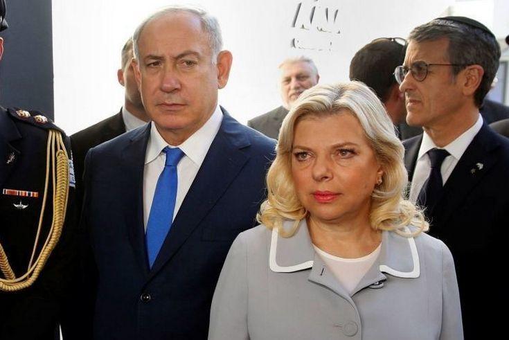 Жена Нетаньяху закатила скандал в Киеве и бросила на пол хлеб-соль