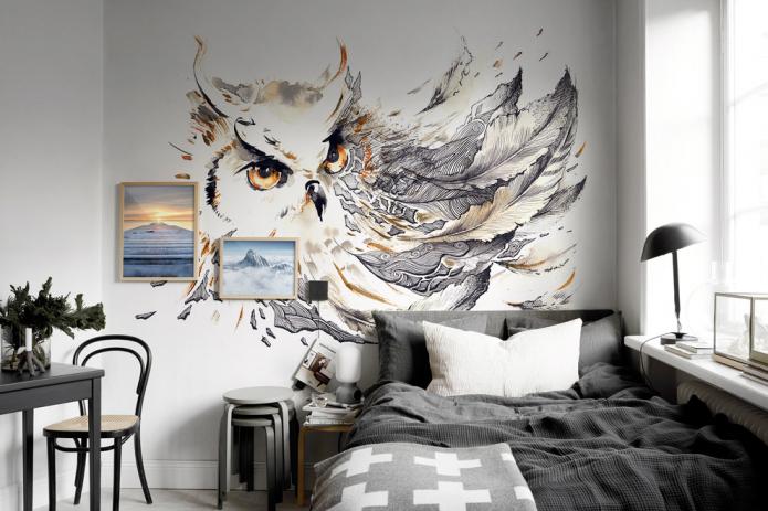 сова и перья
