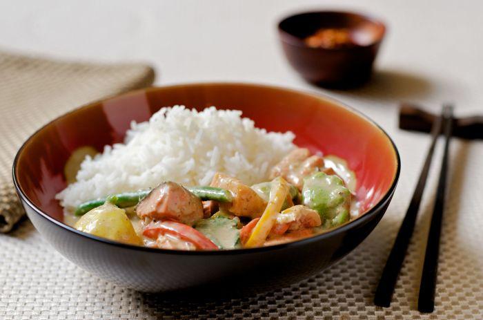 Рис является одним из основных продуктов в тайской кухне. / Фото: www.inspiringrecipeideas.com