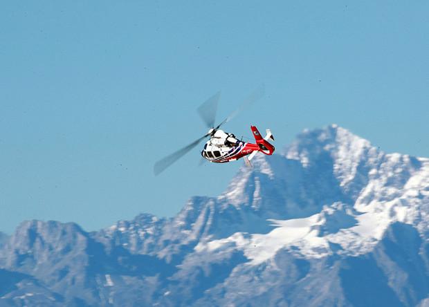 Китайцы испытали свой первый легкий вертолет высокогорьем
