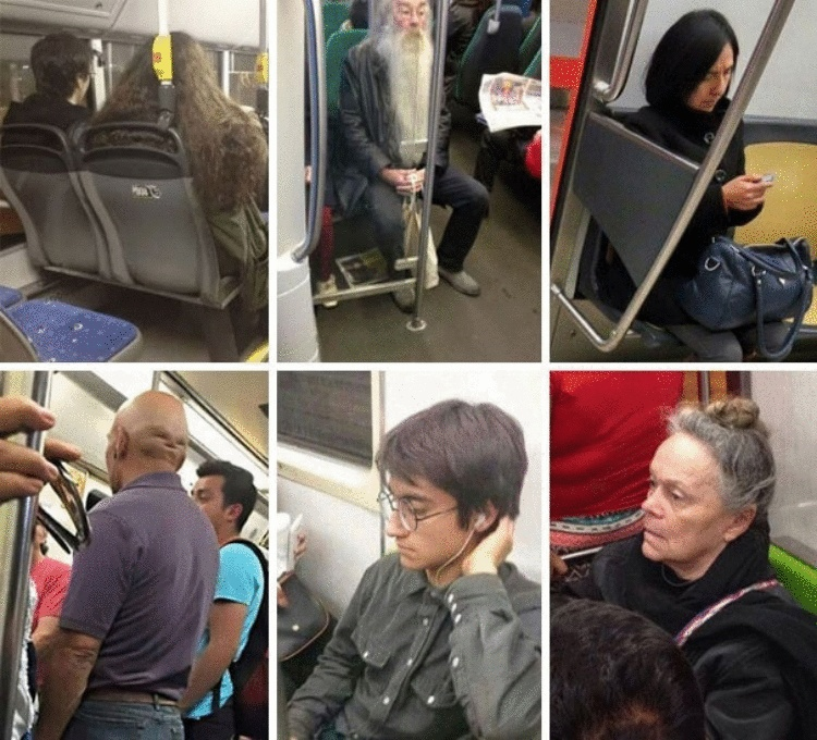 20 странноватых пассажиров метро, которые скрасят даже самую скучную дорогу на работу