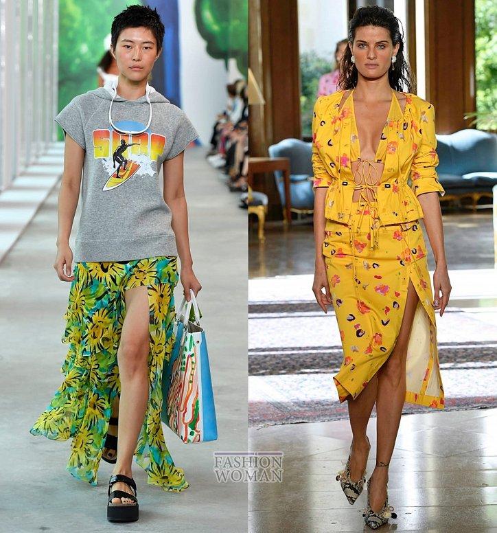 Модные юбки весна-лето 2019 фото №44