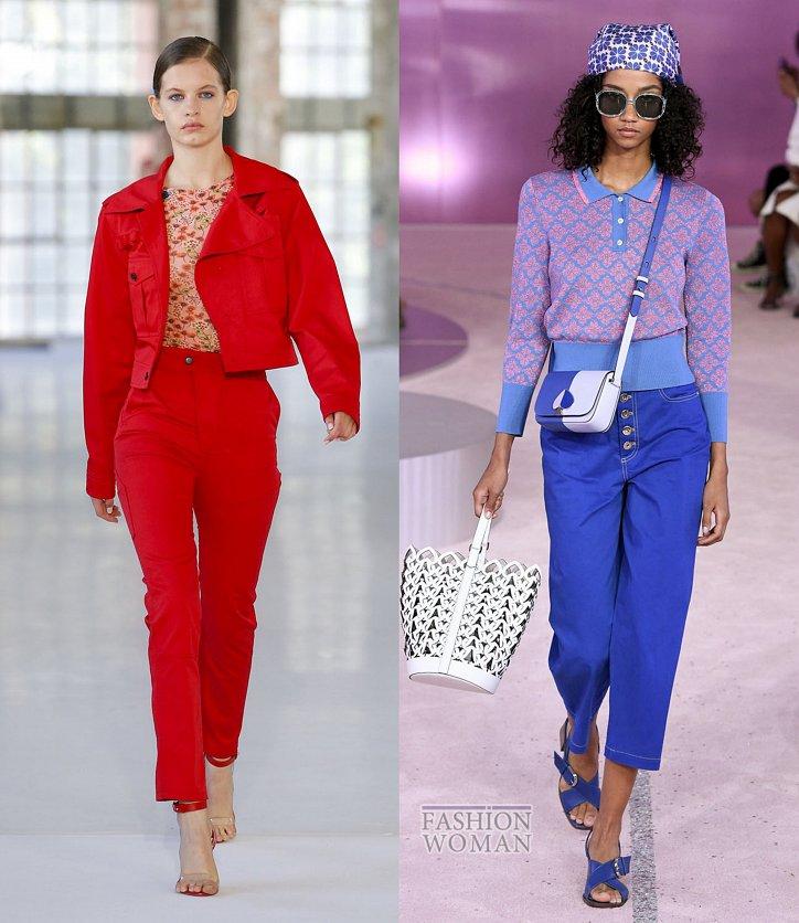 Модные джинсы весна-лето 2019 фото №35