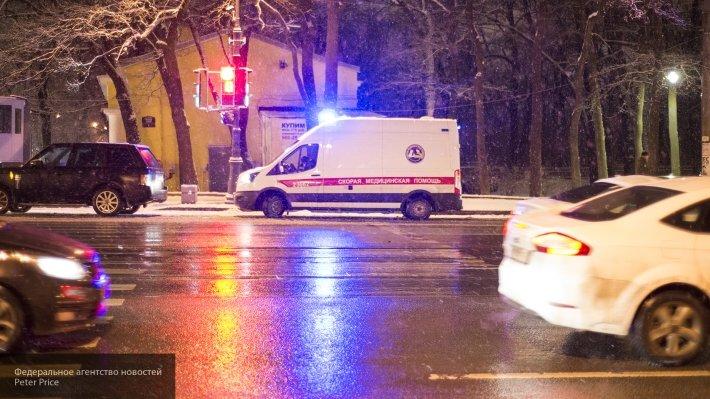 В Екатеринбурге маршрутка протаранила иномарку