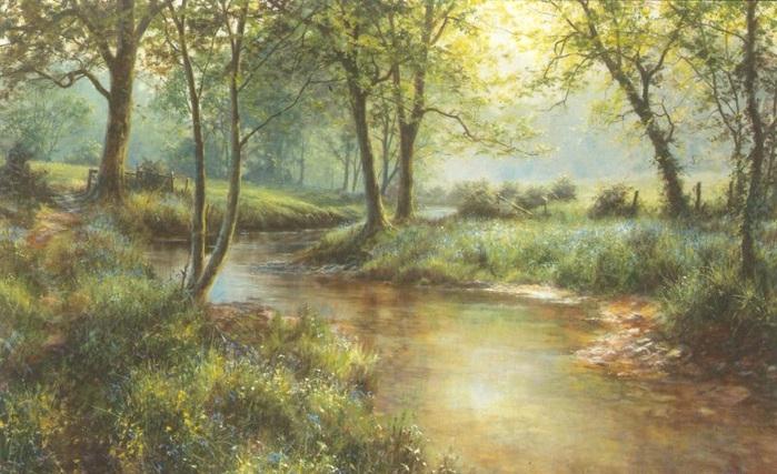 Пейзажи, нарисованные сердцем! живопись,природа