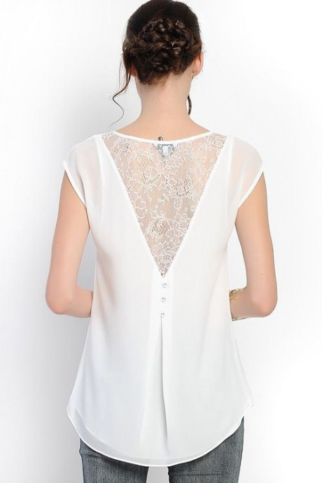 Блузки с оригинальными спинками: невероятные идеи Блузки, оригинальными, спинками, любителей, нетривиальных, вещей
