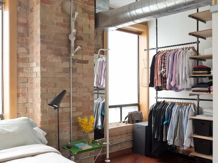 гардеробная спальня 3