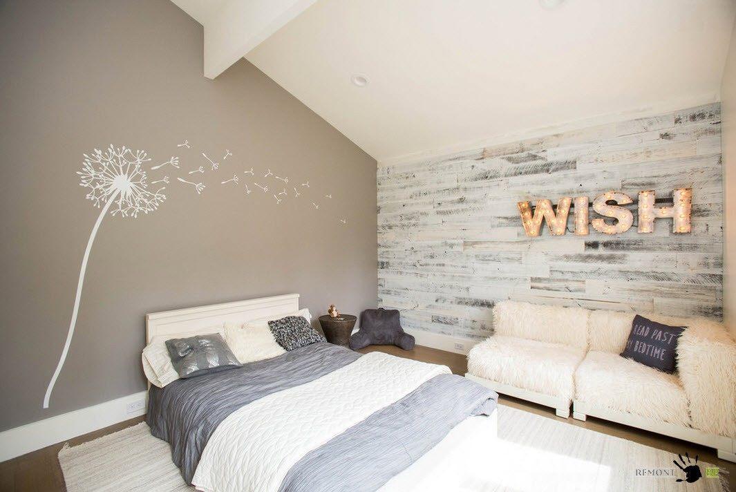 Множество вариантов отделки комнаты – оформляем потолок, стены и полы