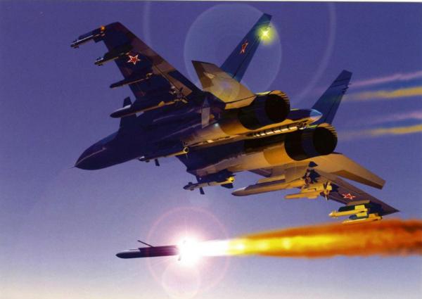 Западные СМИ об инциденте в небе с Су-35 и F-22: встреча «два на два» могла закончиться печально